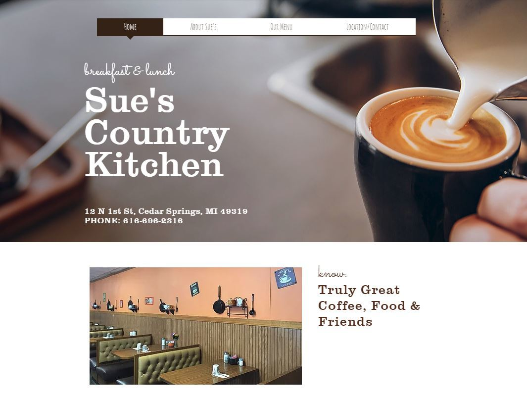 Sue Kountry Kitchen