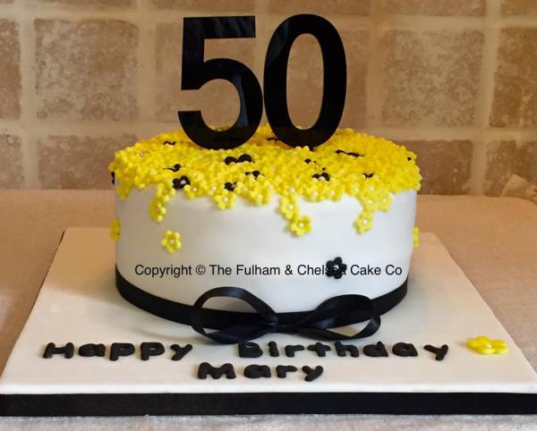 Pretty cake with the Age
