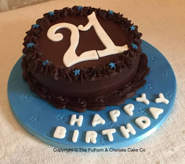 Simple Chocolate Age Cake