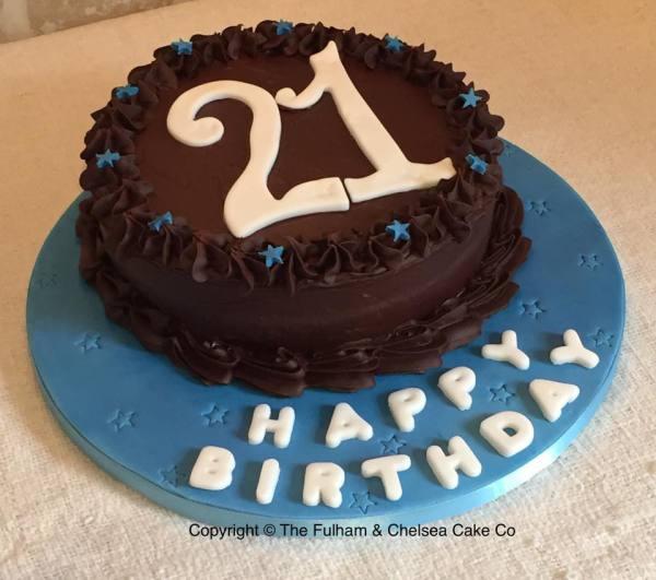 Simple Chocolate Age Cake