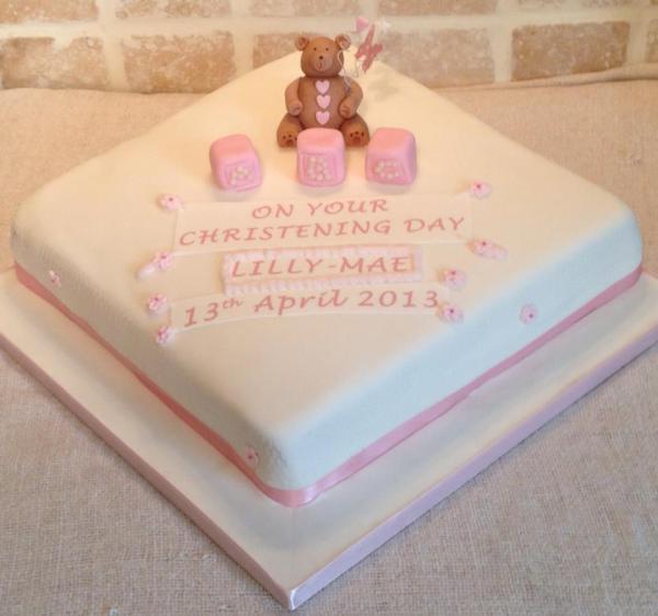 Christening-cake