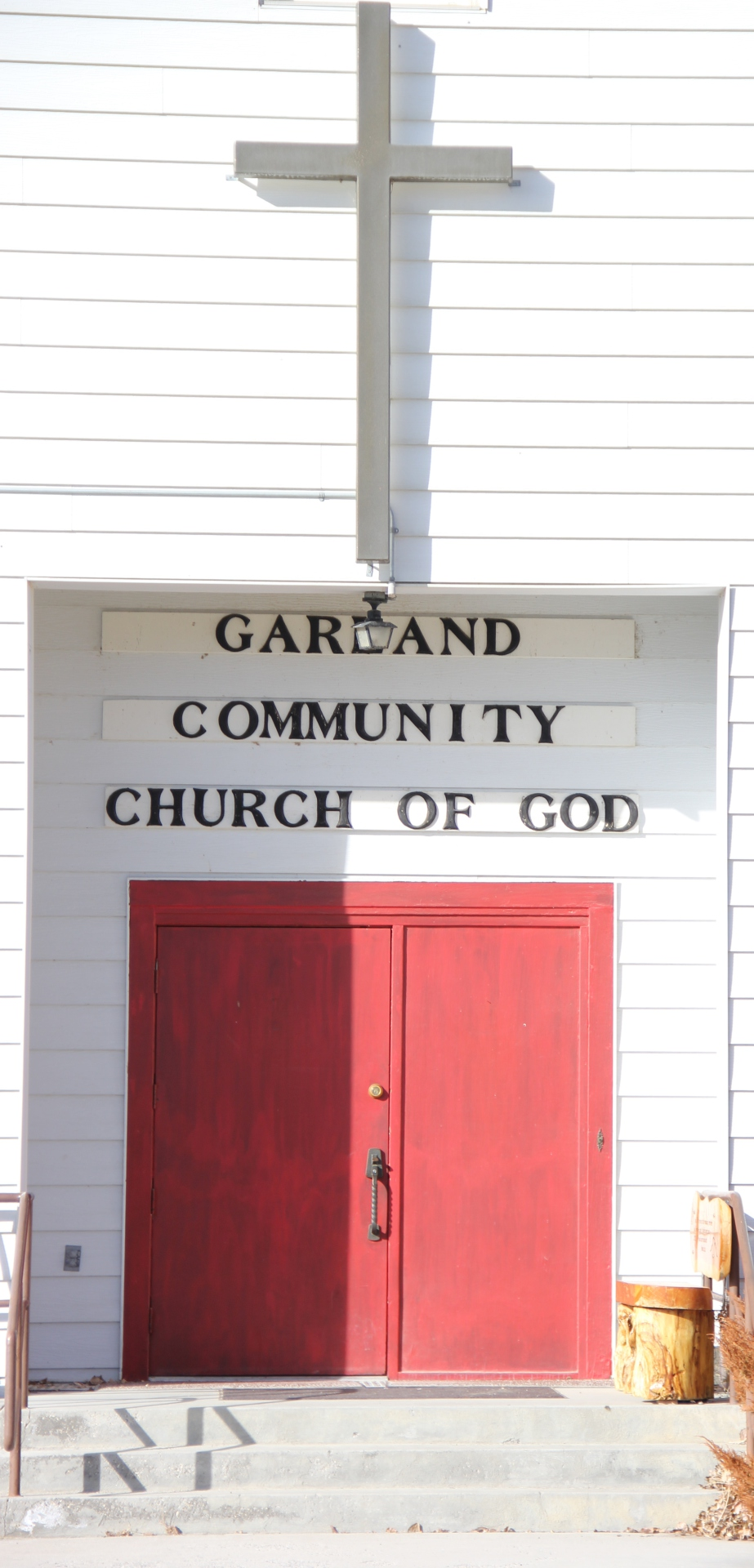 Front Doors, Garland Community Church of God
