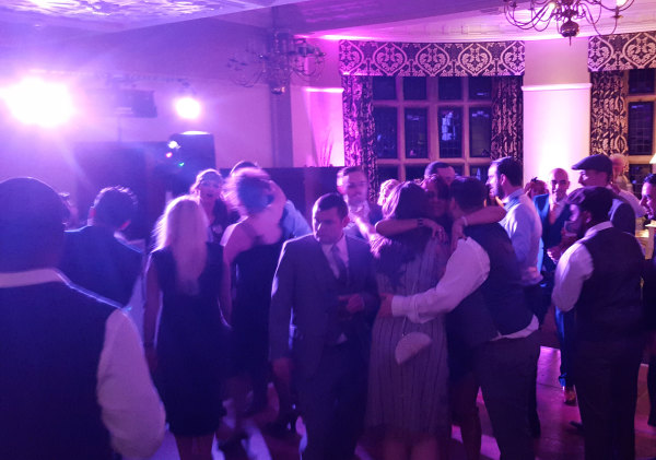 Reception crowd at Selsdon Park Hotel Wedding
