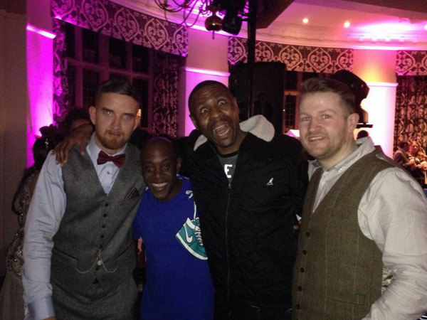 Garage legends DJ Pied Piper & MC DT with DJ Triplet and the Groom