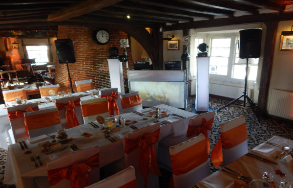 The Wealden Hall, Larkfield - Professional Wedding DJ