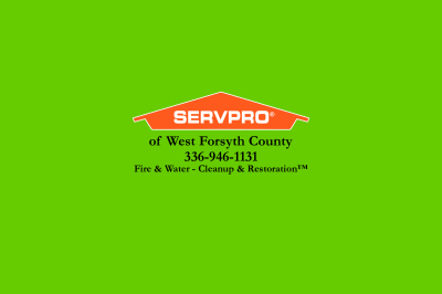 Thank You, Servpro of West Forsyth County!