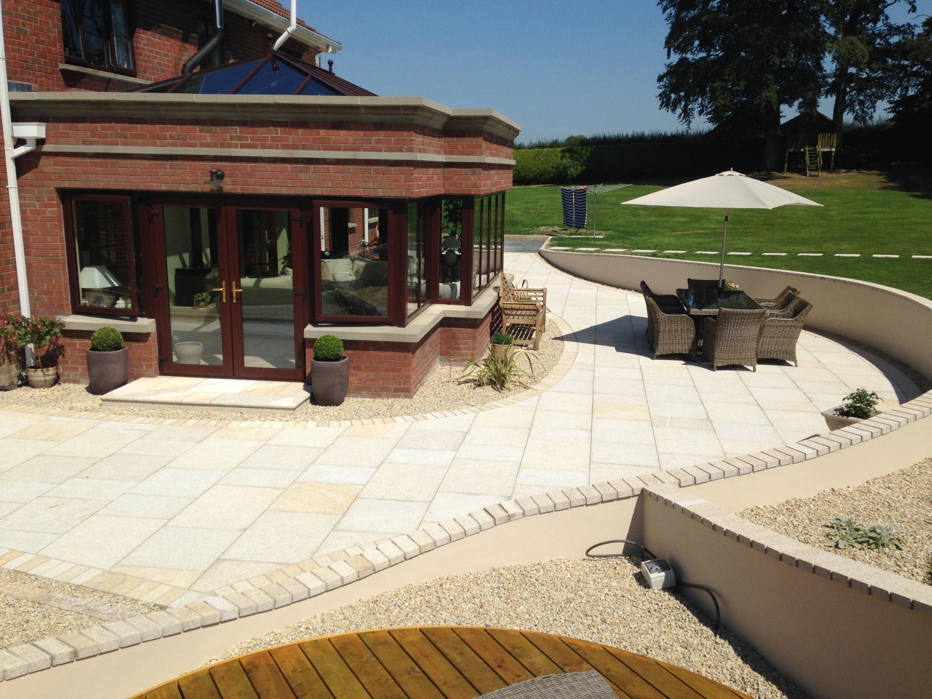 Patios and paving, Natural Stone
