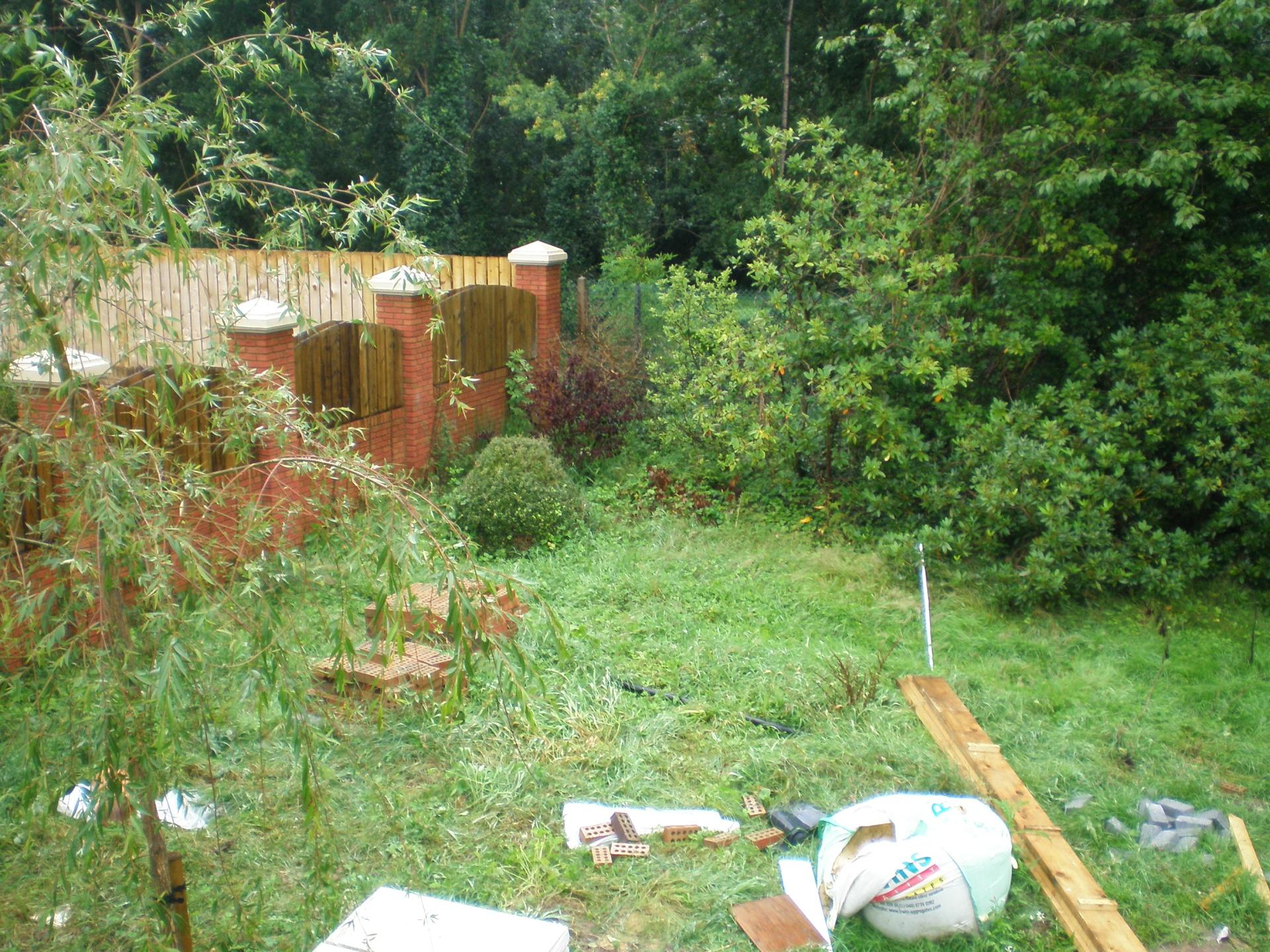 Original back garden