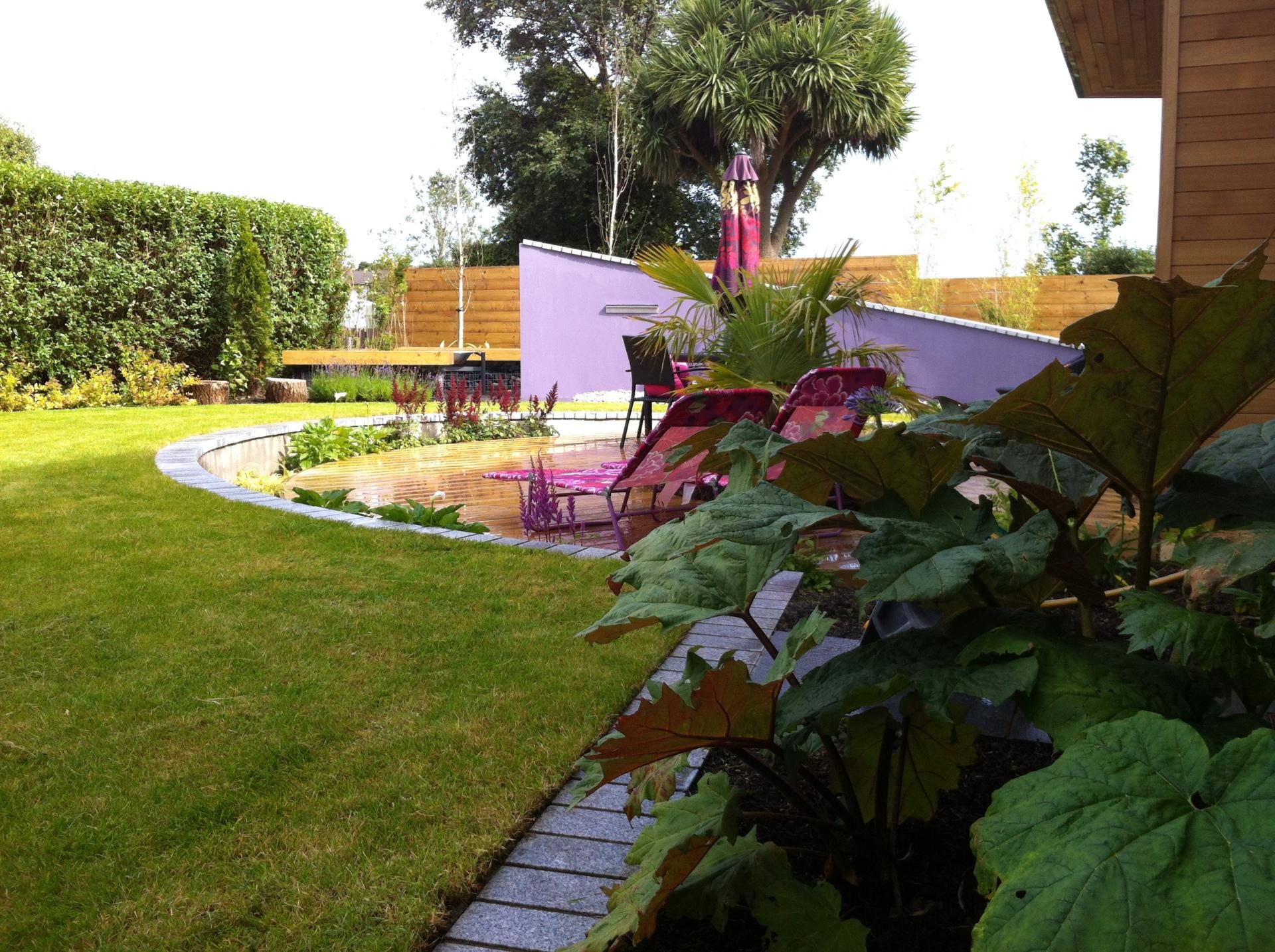 Contemporary Garden Whitehead Co. Antrim