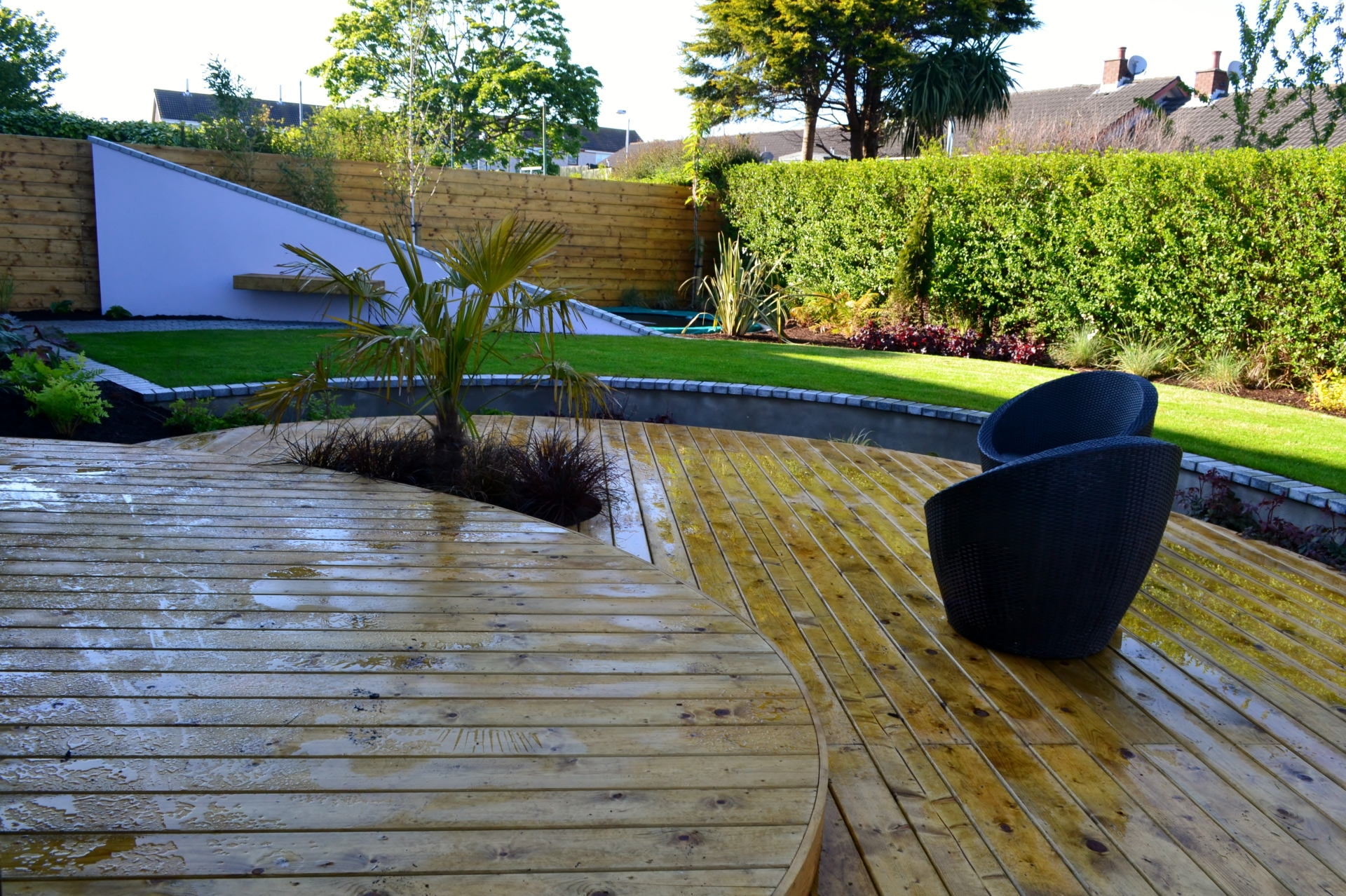 Timber decking, hardwood decking, composite decking