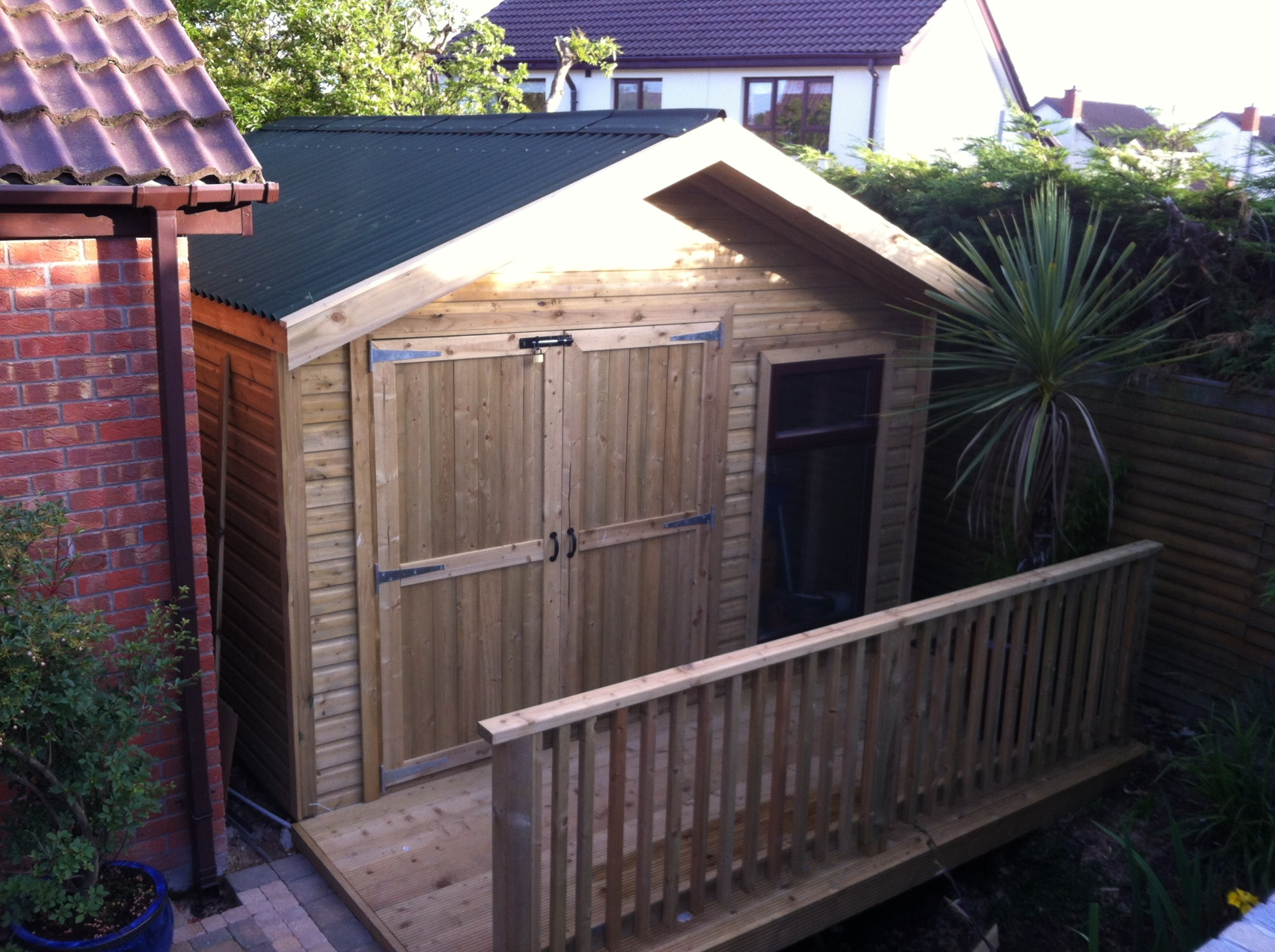 Garden Sheds, Garden Rooms, Timber Structures