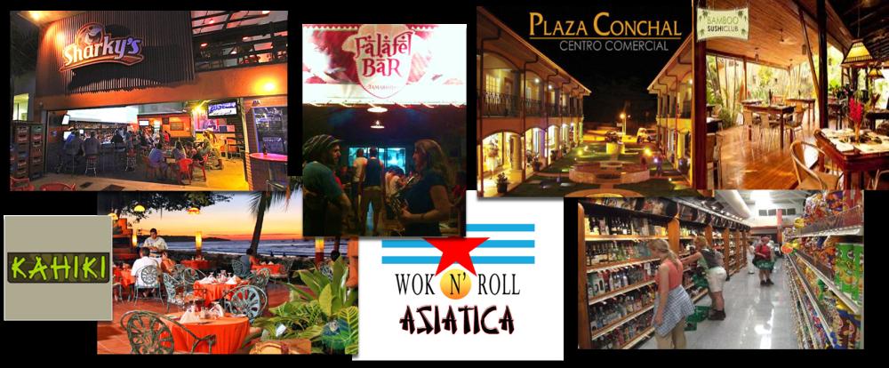 Tamarindo Shops & Restaurants