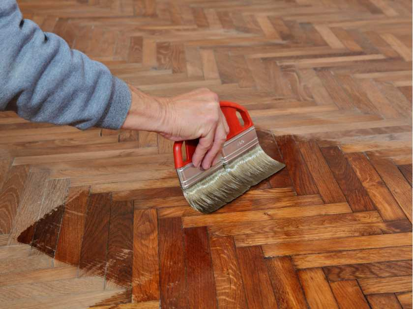 How to restore a wood floor