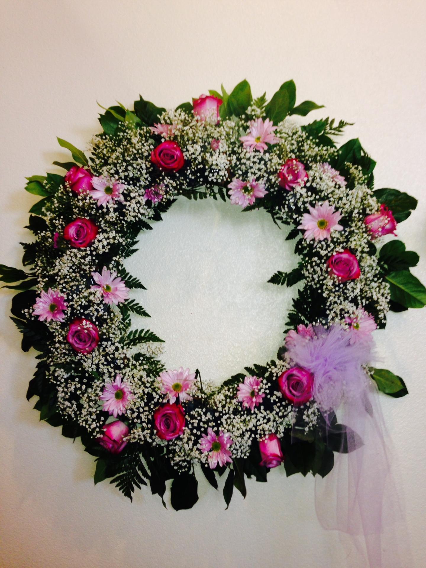 W-8 Lavender Wreath