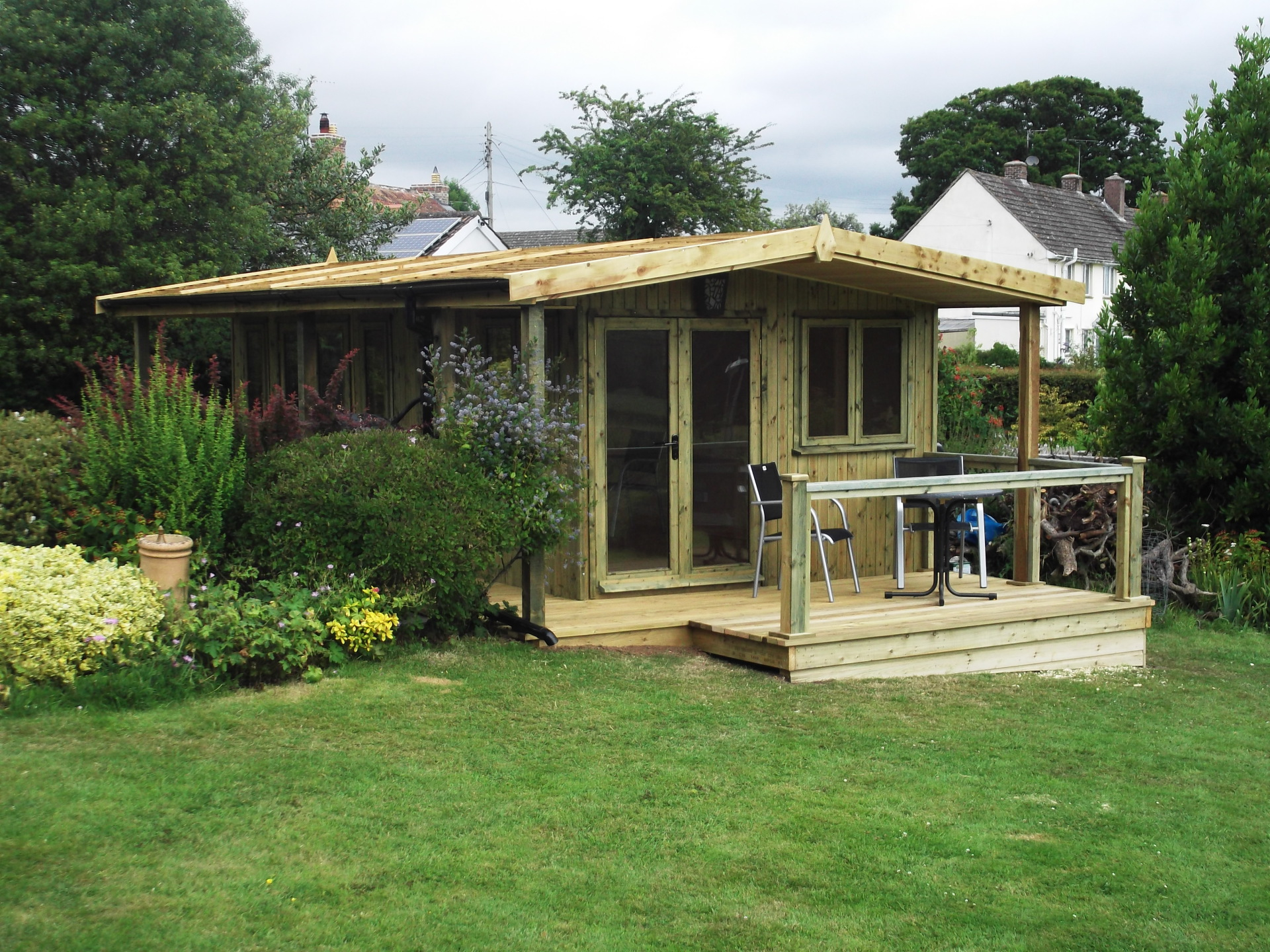 Garden Building and Decking, Dorset.