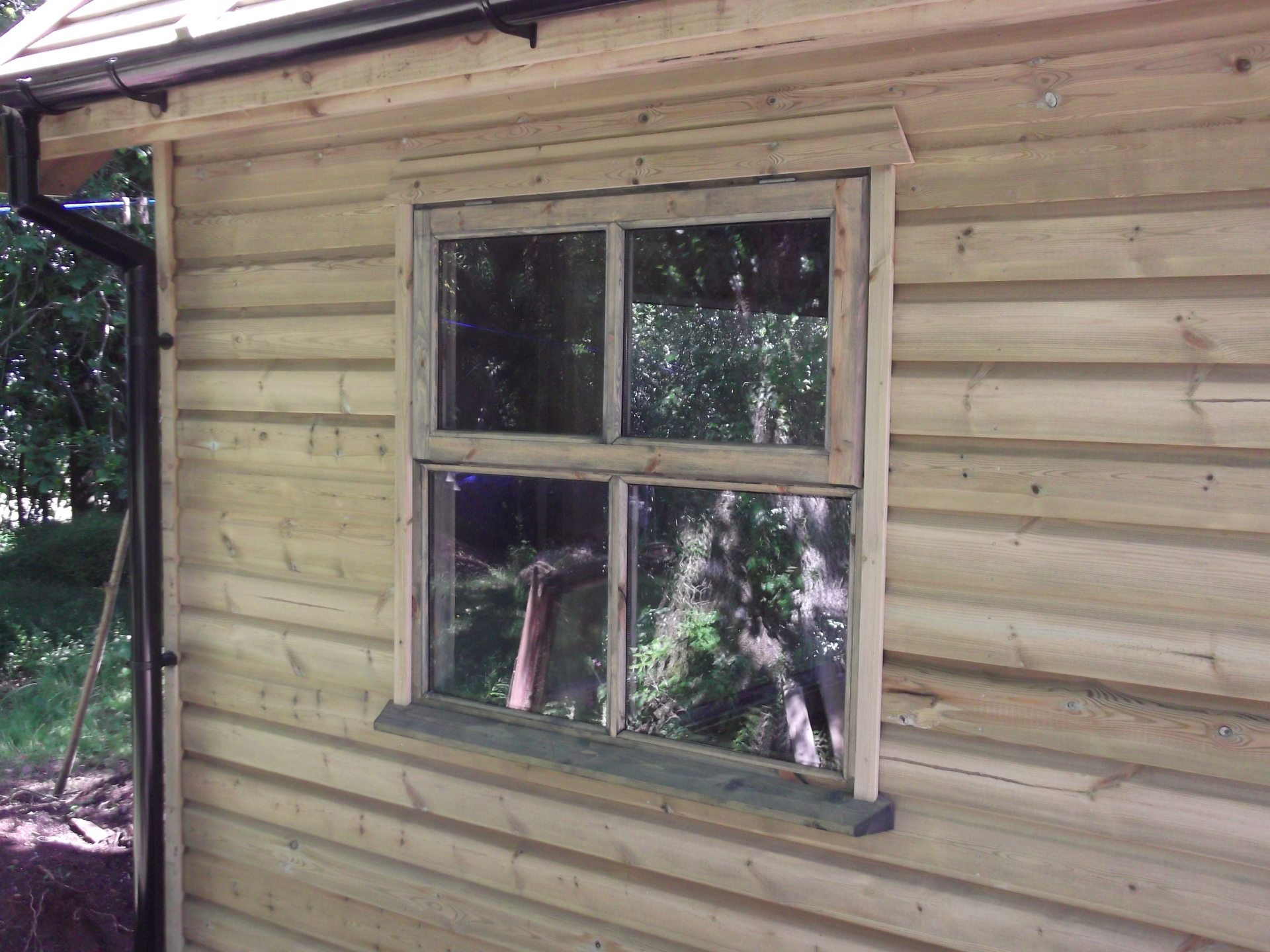 All made with hand made windows and doors to suit.