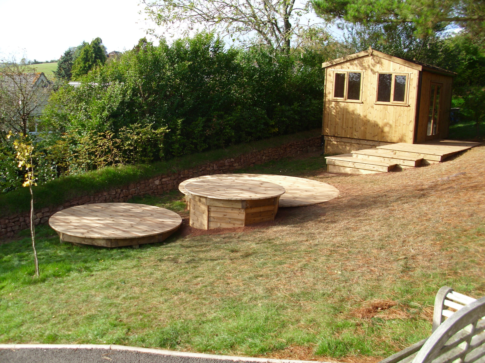 Lots of timber solutions can be achieved.