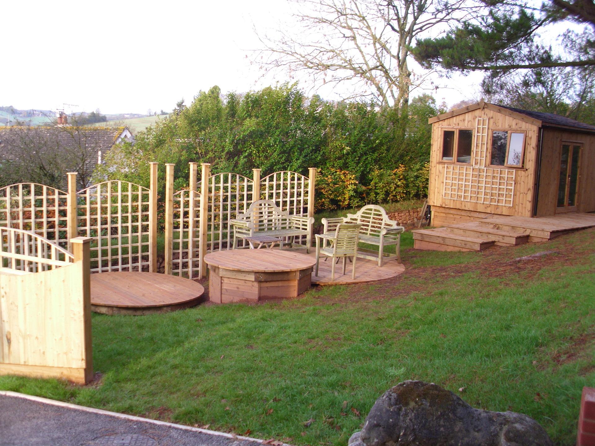 Timber garden concepts
