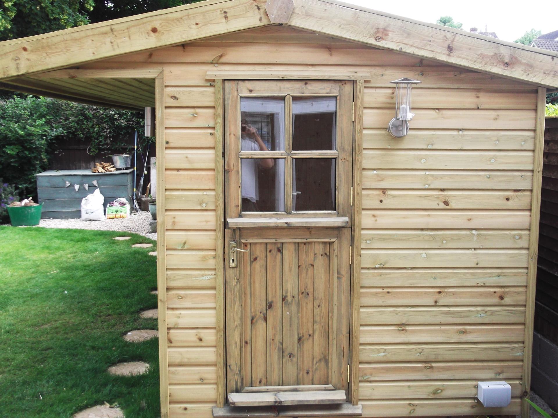 With stable door.