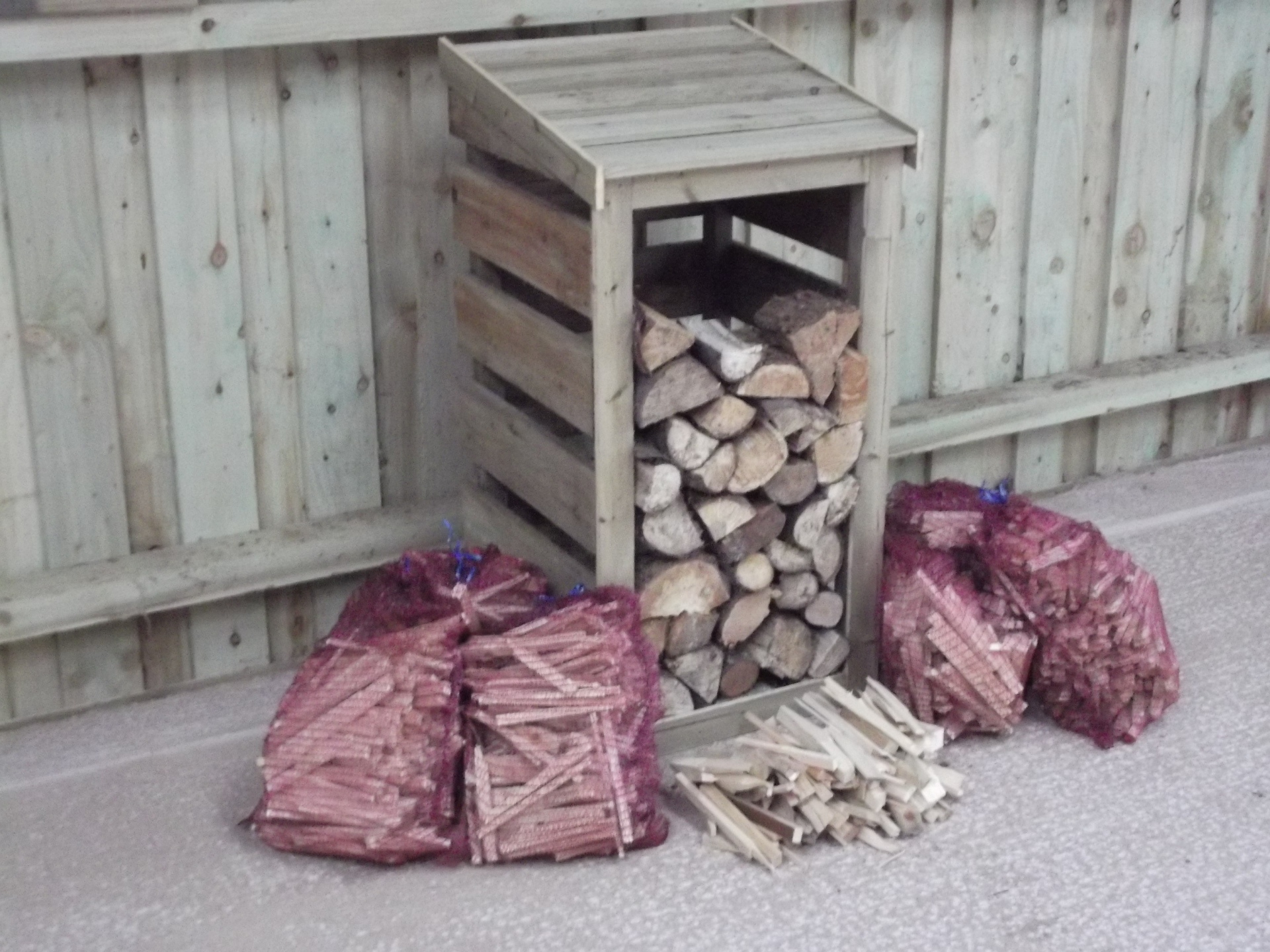 Firewood and Log Store