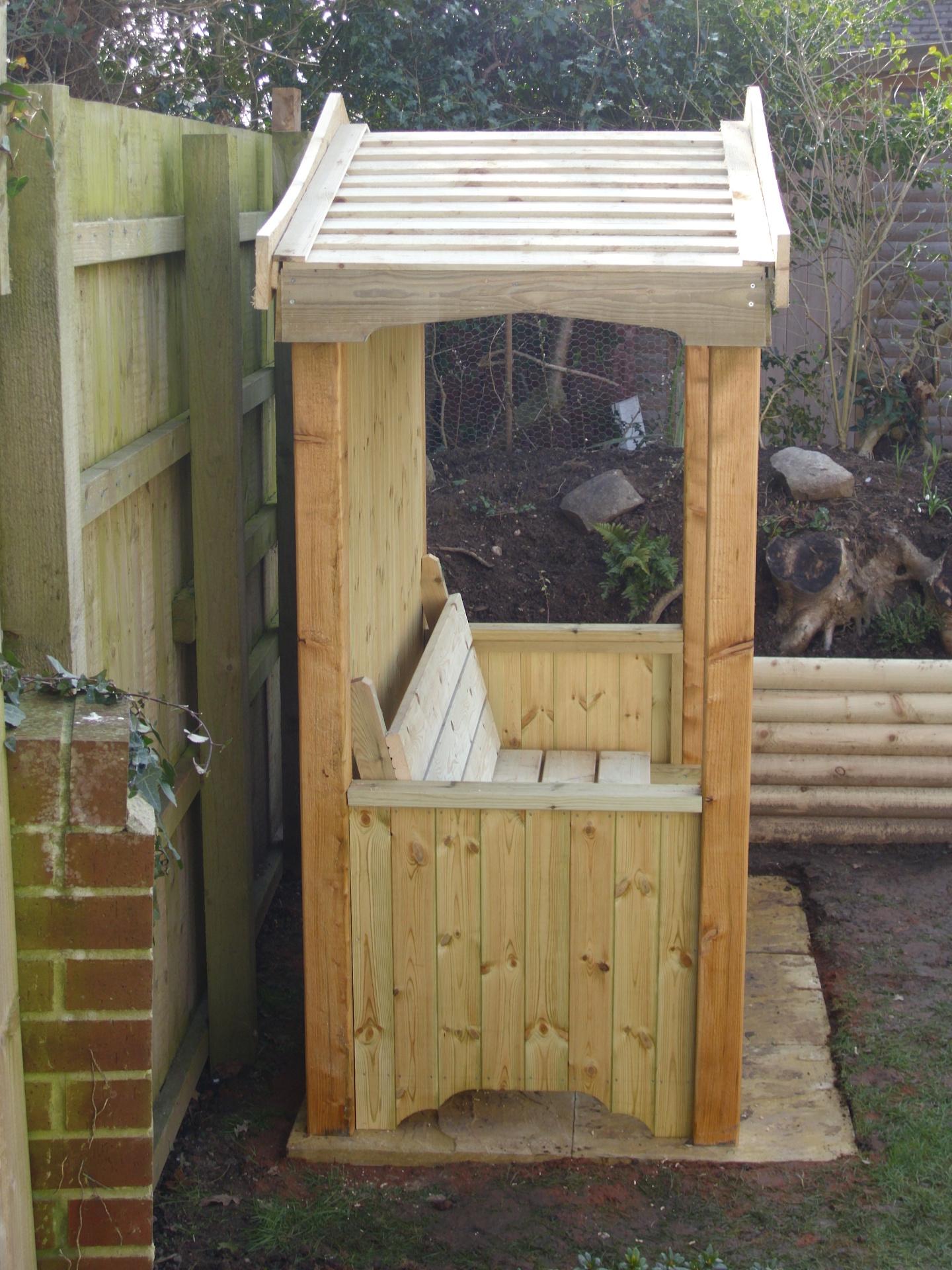 For the smaller garden.