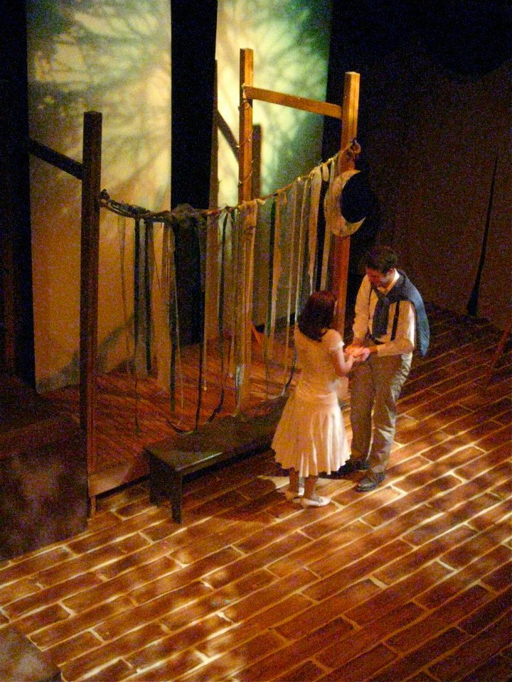 Dalliance Theatre's new production The Fantasticks is a Romeo and Juliet tale, but with a fake feud