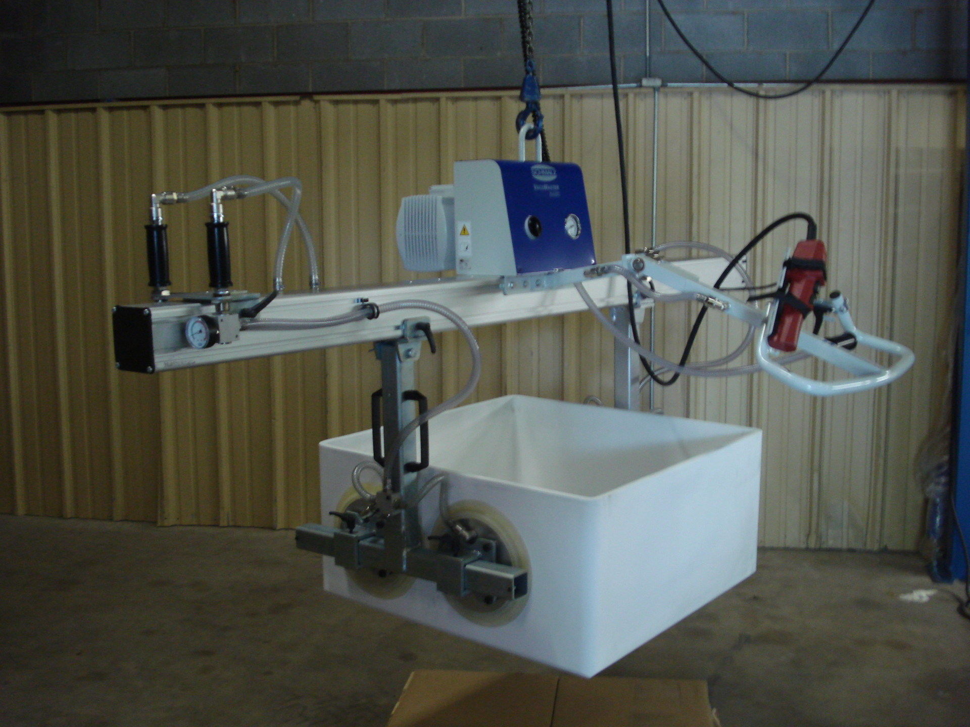 Modified Schmalz Vacuum Lifter