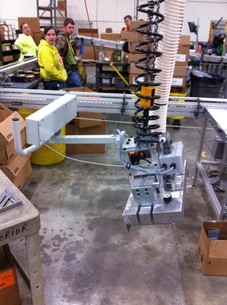 Overhead Crane Vacuum EOAT
