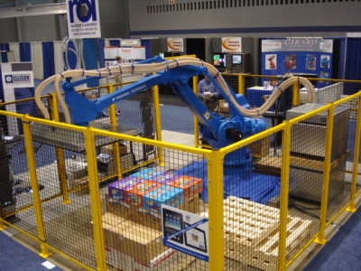 Fully Automated Robot Cell