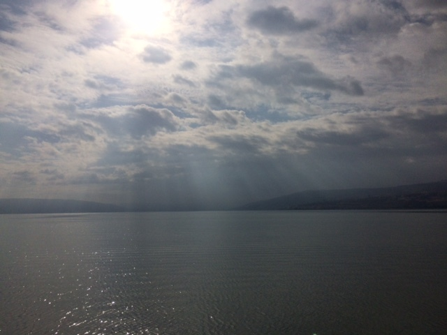 Floating The Sea Of Galilee