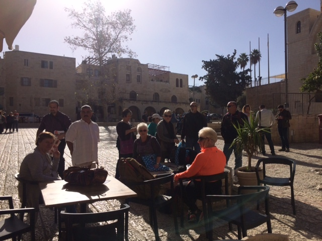 Lunch In The Square Of The Jewish Quarter
