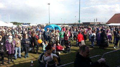 consett festival crowd
