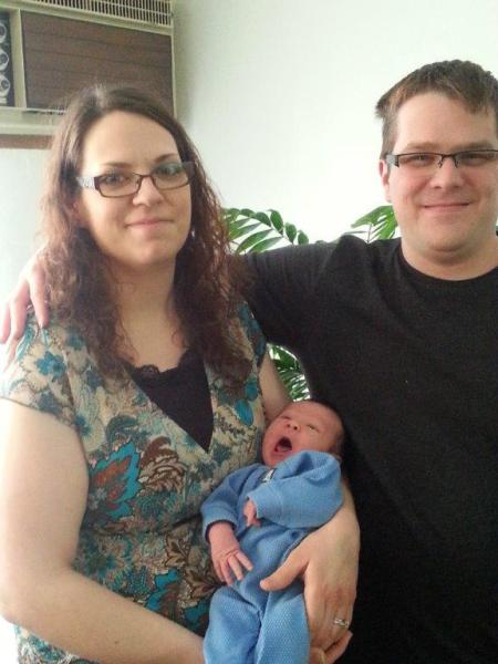 Tammy & Jeremy Bailey welcome Cooper James Bailey