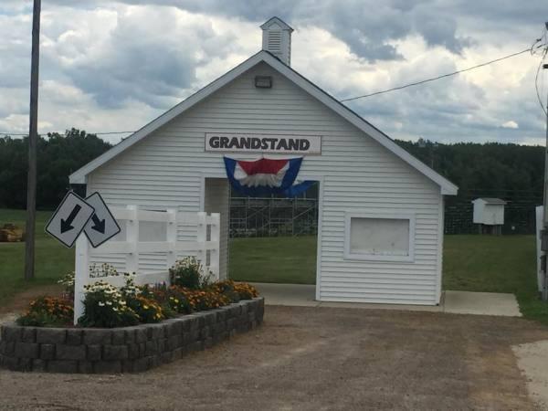 Grandstand Entrance