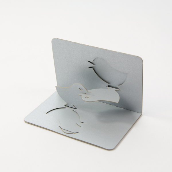 Lovebirds - FoldForm - 3D popup business cards