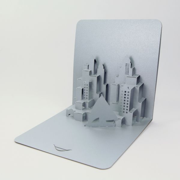 city - FoldForm - 3D popup card