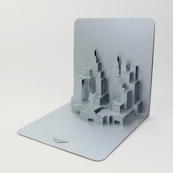 New York cityscape FoldForm 3D popup card