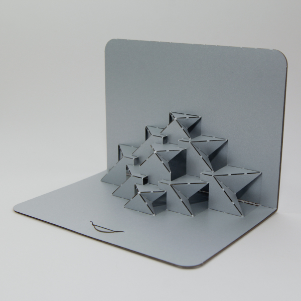 Geometric - FoldForm - 3D popup card