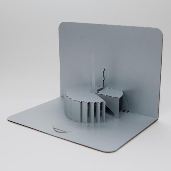 Cake - FoldForm - 3D popup card