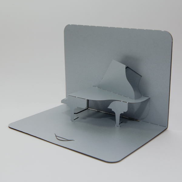 Piano - FoldForm - 3D popup card