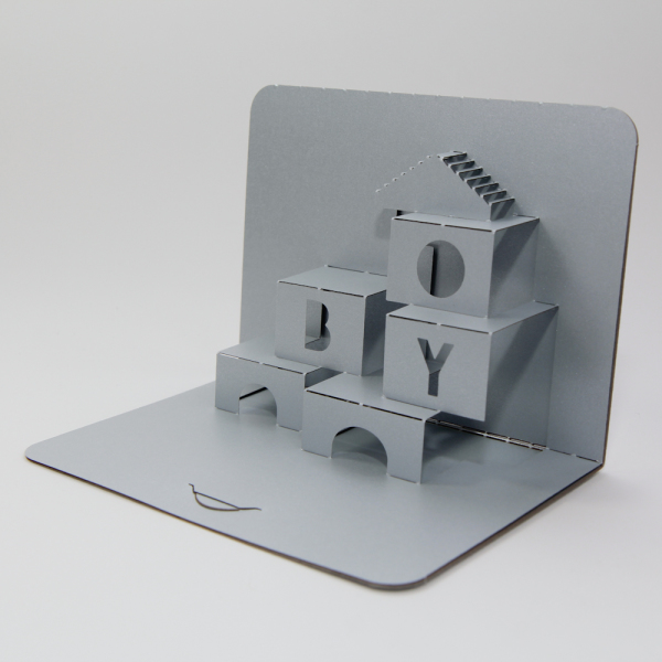 Boy - FoldForm - 3D popup card