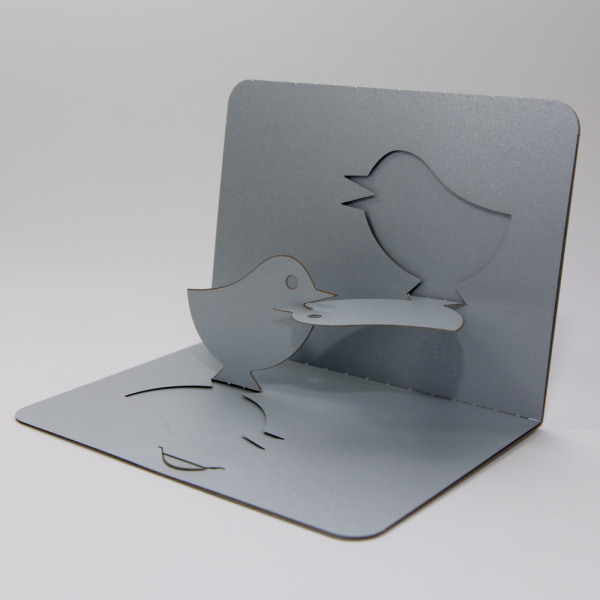 Lovebirds - FoldForm - 3D popup card