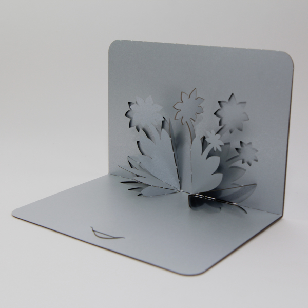 Flowers - FoldForm - 3D popup card