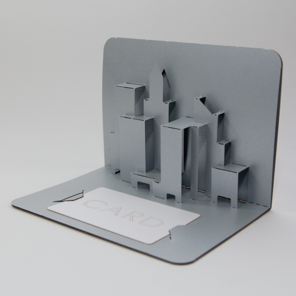 Card holder - FoldForm - 3D popup card