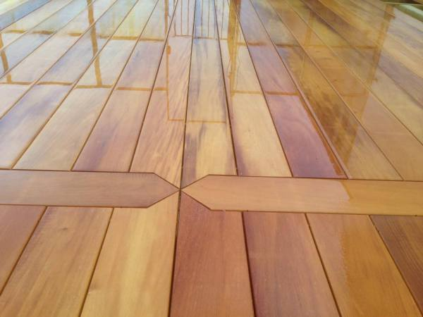 Garapa Hardwood Detailed