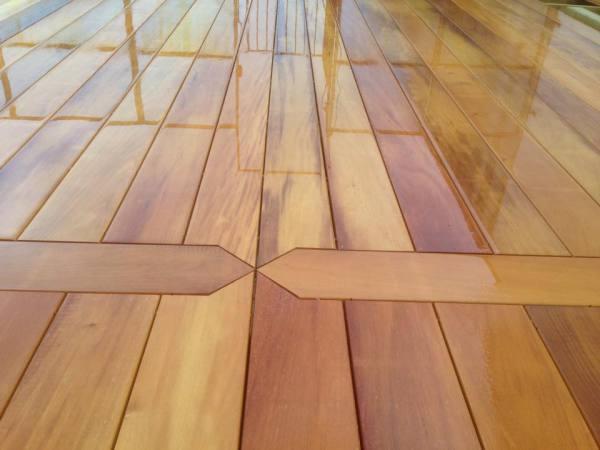 Garapa Hardwood Detailed