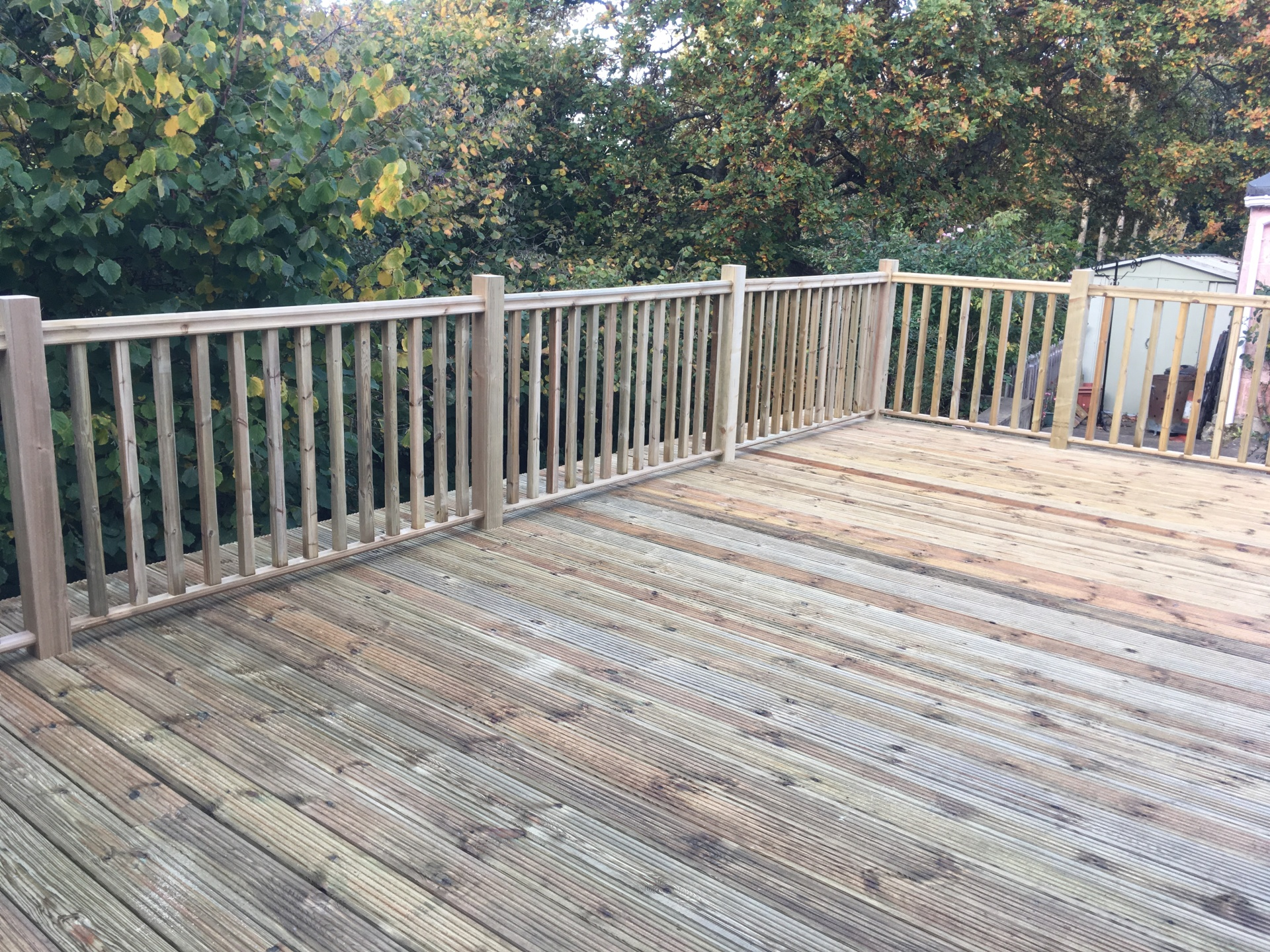 Softwood Treated Decking