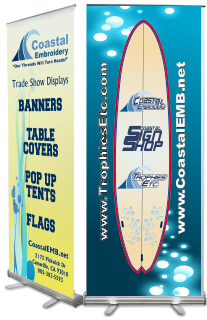 Popup or Retractable Banners