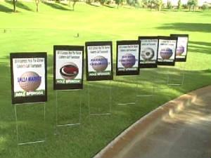 Golf Tee-Signs