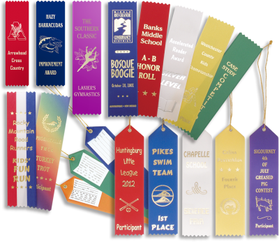 Ribbons and Certificates